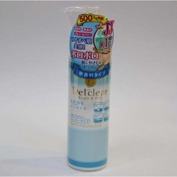 Meishoku AHA&BHA Detclear Facial Bright & Peel Peeling Jelly Очищающий пилинг-гель с AHA и BHA с эффектом легкого скатывания