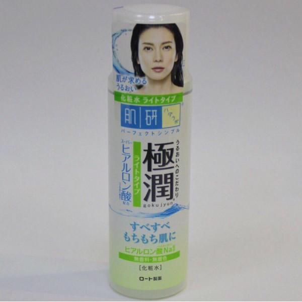 HADA LABO Gokujyun light type Лосьон с гиалуроновой кислотой для нормальной и склонной к жирности кожи