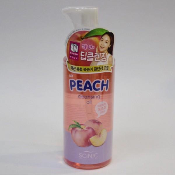 Scinic My Peach Cleansing Oil Гидрофильное масло с экстрактом персика