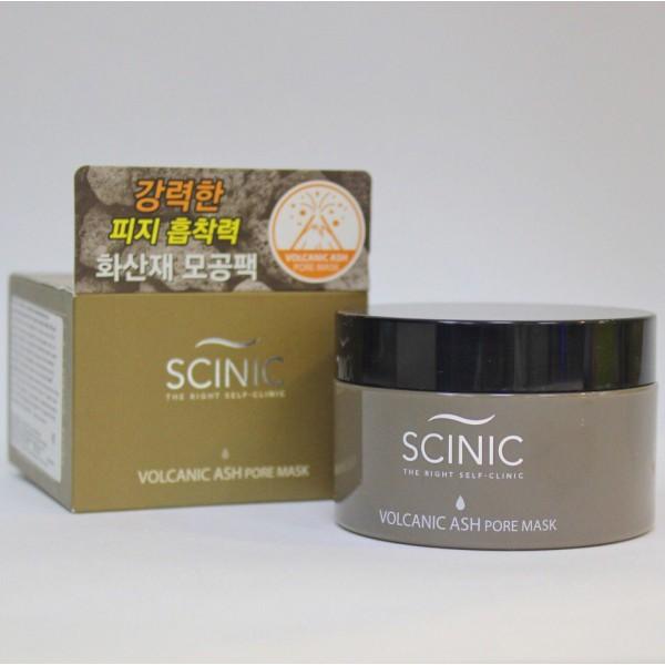 SCINIC VOLCANIC ASH PORE MASK Очищающая маска для лица с вулканическим пеплом