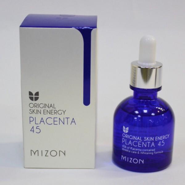 Mizon Original Skin Energy Placenta-45 Омолаживающая плацентарная сыворотка для лица