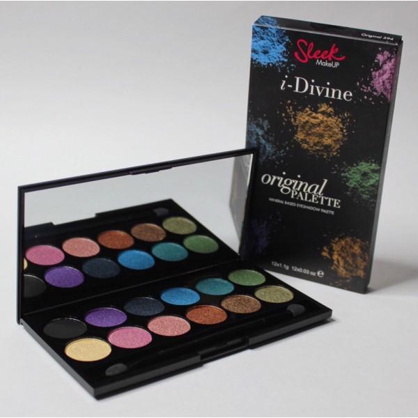 Sleek Make Up Палетка теней для глаз из 12 цветов