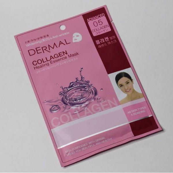Коллагеновая маска Dermal Advanced Collagen Healing Essence Mask