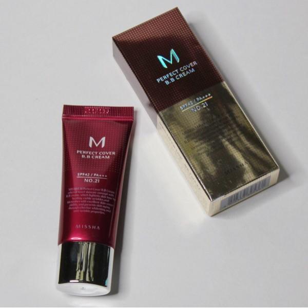 ББ крем Missha M Perfect Cover B.B Cream