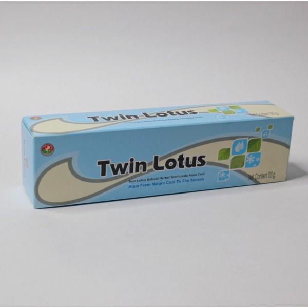 """Twin Lotus Растительная зубная паста """"Морская Свежесть"""""""