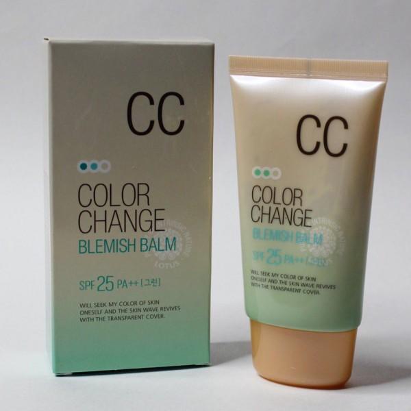WELCOS Color Change Blemish Balm SPF25 PA++ BB крем, меняющий цвет на коже SPF25 PA++