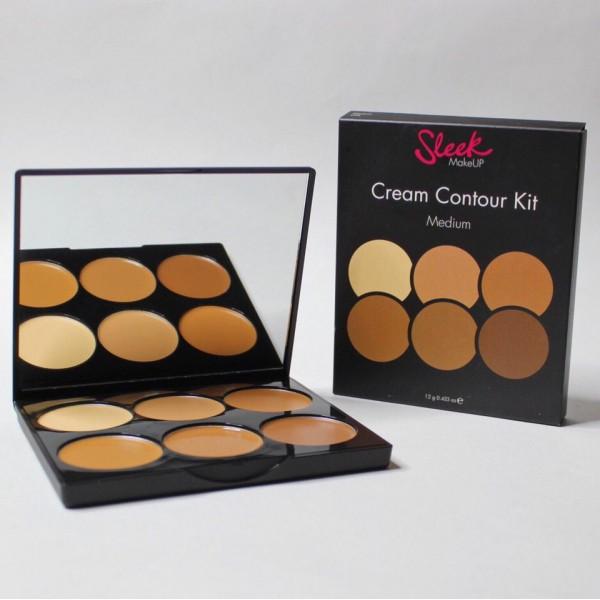 Sleek Make Up Cream Contour Kit  Палетка для контурирования лица