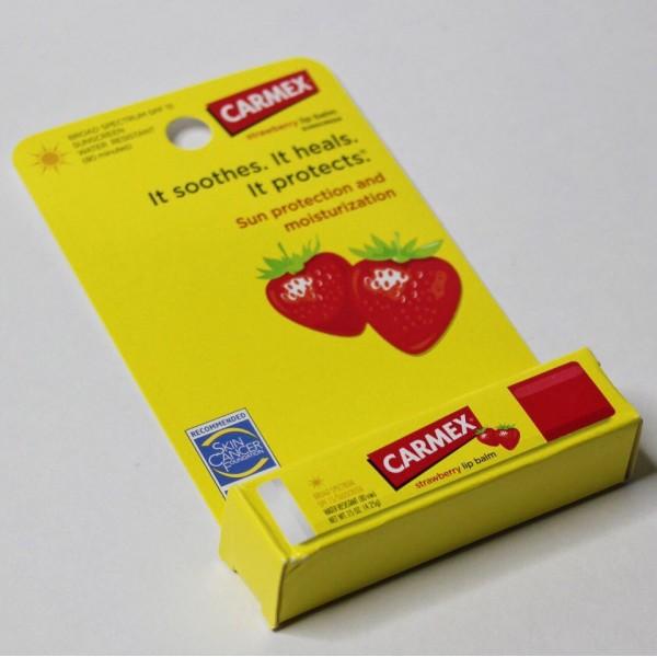 Carmex Бальзам для губ с ароматом клубники