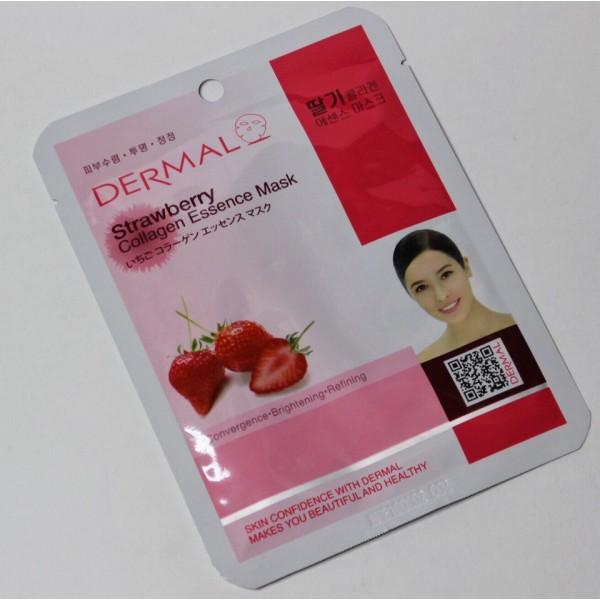 Dermal Collagen Essence Mask Sheet Тканевая маска для лица с коллагеном и натуральными экстрактами