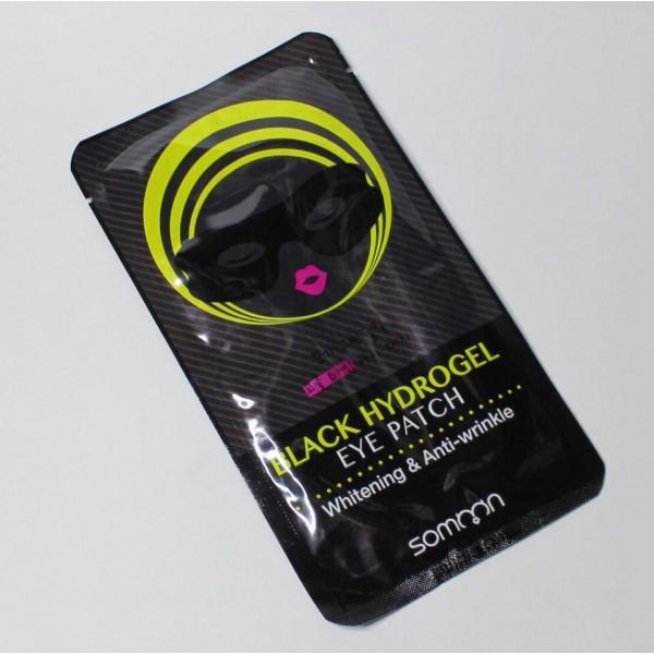 Somoon Black hydrogel eye patch Гидрогелевый патч для области вокруг глаз