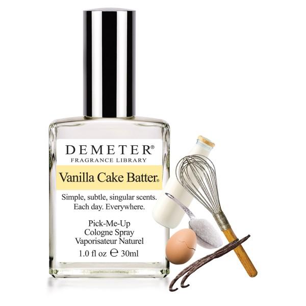 DEMETER Духи о вкусном: «Ванильная сдоба» (Vanilla Cake Batter)