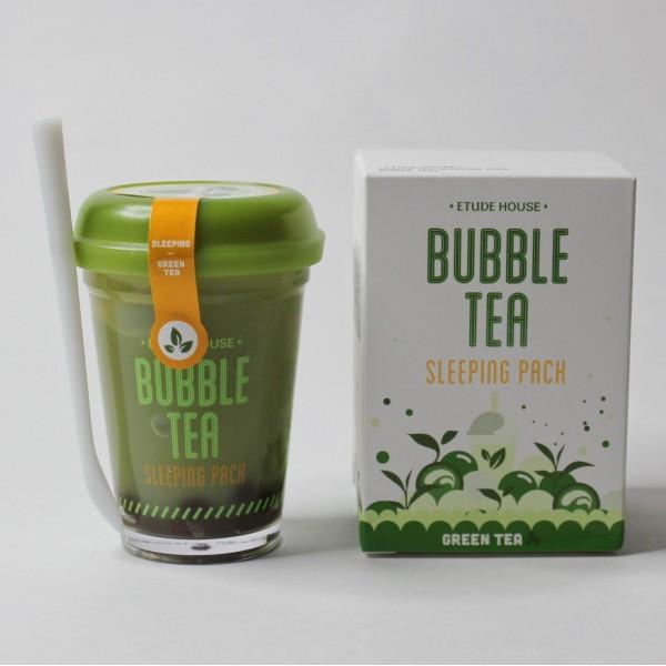 Серия ночных масок Etude House Bubble Tea Sleeping Pack