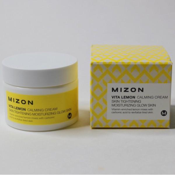 Успокаивающий крем с экстрактом лимона и витамином С Mizon