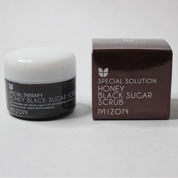 Скраб для лица Mizon Honey Black Sugar Scrub