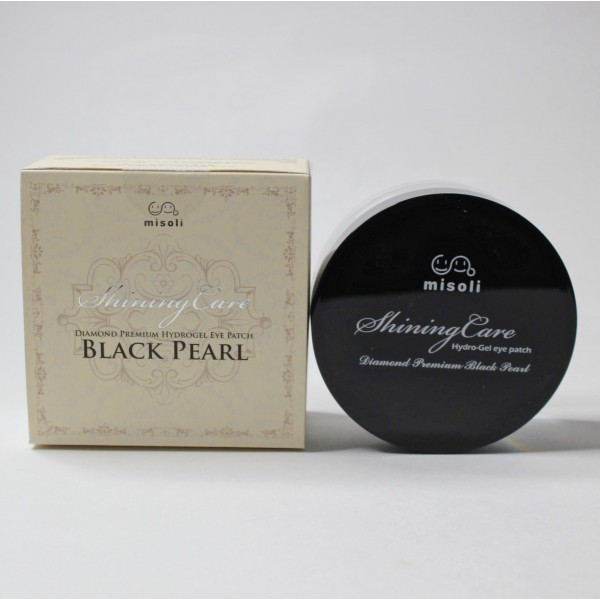 MISOLI Hydrogel Eye Patch Diamond Premium Black Pearl