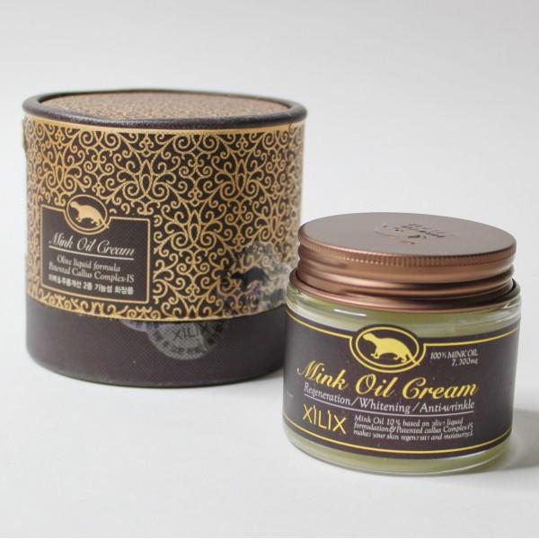 Расслабляющий крем с жиром норки Deoproce relaxing care mink oil cream