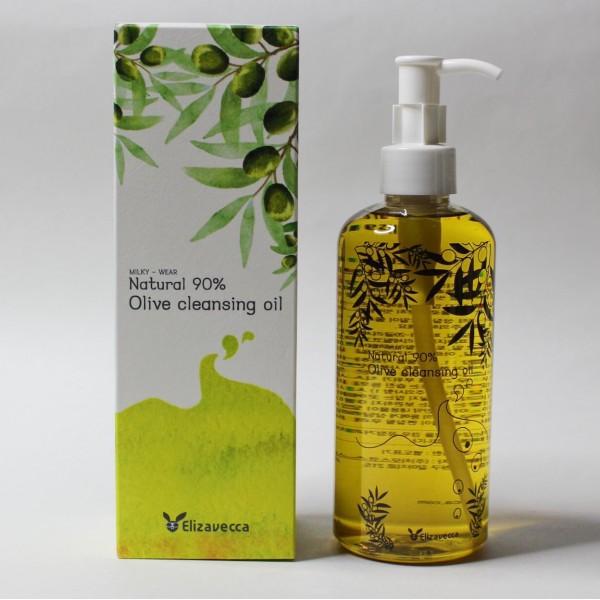 ELIZAVECCA Natural 90% Olive Cleansing Oil Гидрофильное масло с натуральным маслом оливы
