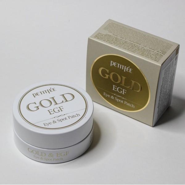 Гидрогелевые патчи для глаз Petitfee Gold & EGF Eye Patch