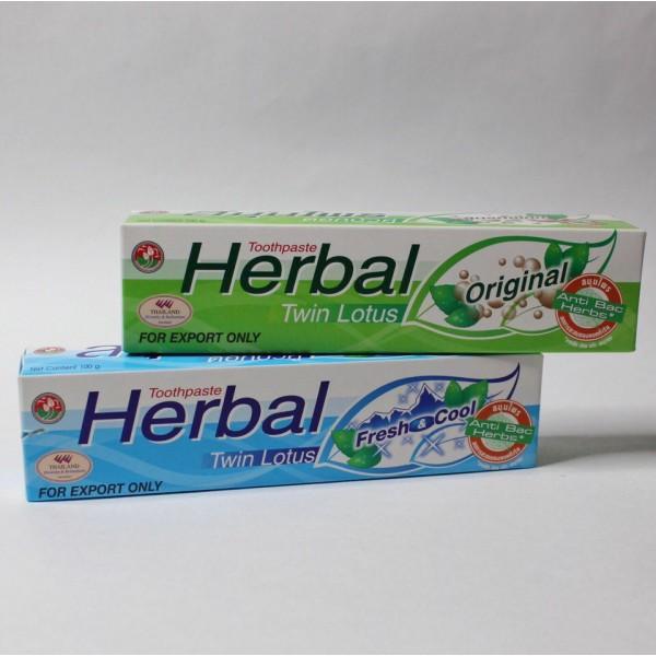 Twin Lotus Зубная паста с натуральными травами