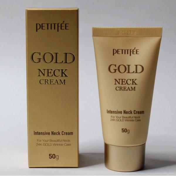 Petitfee Gold Intensive Neck Cream Крем для шеи